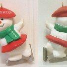 1990 Hallmark Keepsake Christmas Ornament Daughter Ice-Skating