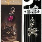 Kitty & Me Charms High Quality decorative pet collar & Bracelet charms - Pink 2