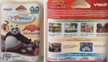 VTech V.Smile V-Motion Dreamworks Kung Fu Panda Game NEW 4-6 Years Cyber Pocket