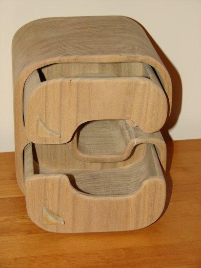 Alpha Wooden Jewelry Box
