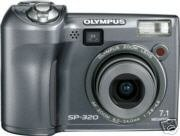 Olympus SP-320 7.1 MP Digital Camera w. 3x Optical Zoom