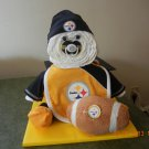 Pittsburgh Steelers Sports Diaper Baby Cake