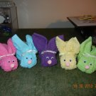 Boo Boo Bunnies Washcloths-Baby Shower Favors