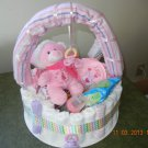 Basket Diaper Cake