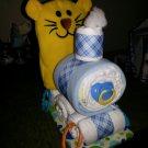 Coby Cub, Pandora Panda or Penelope Piggy Train Diaper Cake