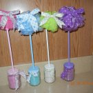 Spa Topiary Favors-baby shower favors-bridal shower favors, treat bags