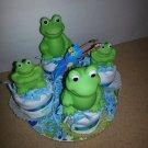 Frog Onesie Cupcakes