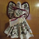 Dish Towel Angel, Kitchen Angel, Kitchen Gift, Housewarming Gift