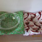 "Microwaver Bowl Cozies (Size 15""-Large), Holiday Cozies, Xmas & Fall Cozies"