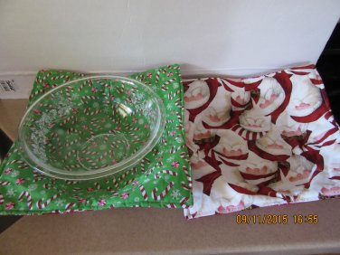 """Microwaver Bowl Cozies (Size 15""""-Large), Holiday Cozies, Xmas & Fall Cozies"""