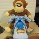 Monkey Motorcycle Diaper Cake