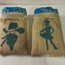 Cowboy Treat Bags, Burlap Favor Bags, Goodie Bag, Country Favors, Western Party Favors & Bags