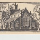 Cartmel Priory from the South East Postcard. Mauritron 214292