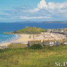 St. Ives writing on front Postcard. Mauritron 214299