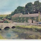 The Swan Hotel Bilbury Cotswolds Postcard. Mauritron 214316