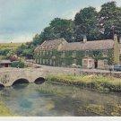 Cotswolds Village Bilbury Postcard. Mauritron 214317