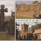Eyam Multiview Postcard. Mauritron 214331
