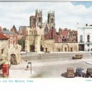 Bootham Bar Minster York Postcard. Mauritron 214359