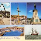 Captain Cooks Whitby Yorkshire Postcard. Mauritron 214372