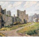 Castle Bolton Wensleydale Postcard. Mauritron 220700