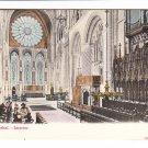 Durham Cathedral Interior Postcard. Mauritron 248299