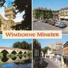 Wimborne Minster Multiview Postcard. Mauritron 248334