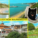 Good Luck from Bournemouth Multiview Postcard. Mauritron 248335
