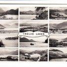 Twelve Lakes Cumberland. Photograph. Crease Postcard. Mauritron 248404