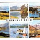 Lakeland Gems Multiview. Sanderson Range Postcard. Mauritron 248418