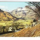 The English Lakes Langdale Valley Cumbria Postcard. Mauritron 248424