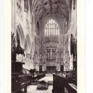 Winchester Cathedral Choir Looking East Postcard. Mauritron 249746