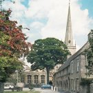 Church and Almshouses Burford Oxfordshire Postcard. Mauritron 249758