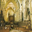 York Minster The Choir Looking West Postcard. Mauritron 249790