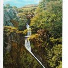 Llanberis Falls Wales Postcard. Mauritron 249813