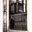 York Minster The Great Choir Screen Postcard. Mauritron 249817