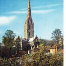 The Cathedral Salisbury Wiltshire Postcard. Mauritron 249888