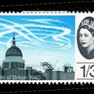 GB QE II Stamp 1965 Battle of Britain 1/3d MM SG678 Mauritron 78025