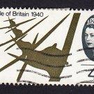 GB QE II Stamp 1965 Battle of Britain 4d MFU SG671 Mauritron 78027