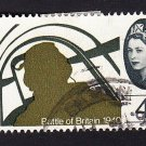 GB QE II Stamp 1965 Battle of Britain 4d MFU SG672 Mauritron 78028
