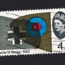GB QE II Stamp 1965 Battle of Britain 4d MFU SG673 Mauritron 78030