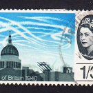 GB QE II Stamp 1965 Battle of Britain 1/3d Used Tear SG678 Mauritron 78033