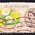GB QE II Stamp 1963 Nature 3d MFU SG638 Mauritron 78043