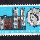 GB QE II Stamp 1966 Westminster Abbey 3d MFU SG687 Mauritron 78050
