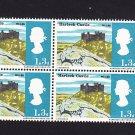 GB QE II Stamp 1966 Landscapes 1/3d Blk 4 UM SG691 Mauritron 78053