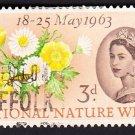 GB QE II Stamp 1963 Nature 3d MFU SG638 Mauritron 78065