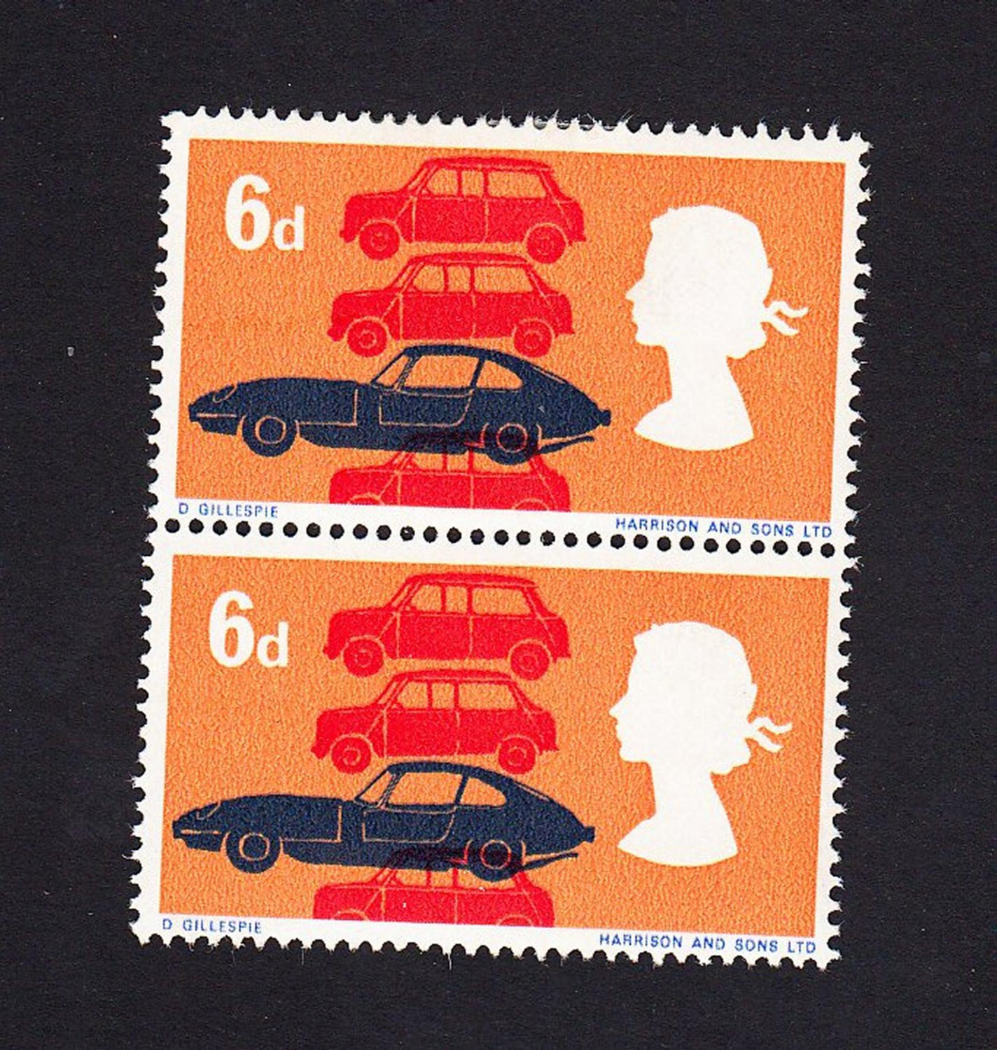 GB QE II Stamp 1966 Technology 6d Blk 2 UM (1) SG702 Mauritron 78078