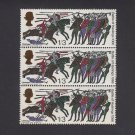 GB QE II Stamp 1966 Hastings 1/3d Blk 3 MM UM SG712 Mauritron 78085
