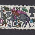 GB QE II Stamp 1966 Hastings 4d MFU SG710 Mauritron 78095