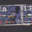 GB QE II Stamp 1967 EFTA 1/6d Blk 2 MFU SG716 Mauritron 78106