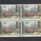 GB QEII Stamp. 1967 Paintings 1/6d BLK 4 UM SG750 Mauritron #78132